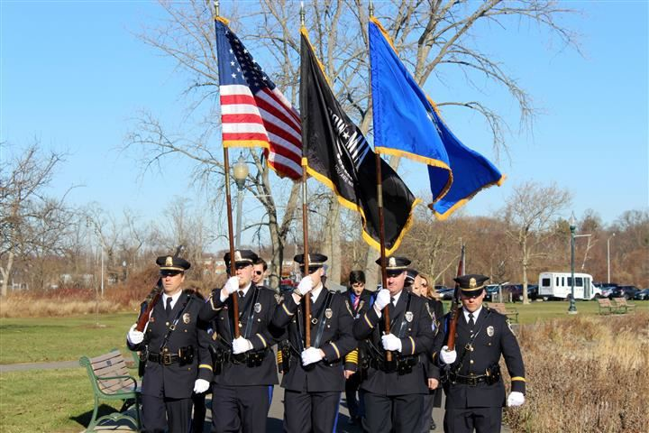 The West Haven Police Color Guard
