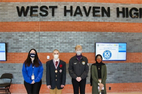 West Haven High student wins public speaking competition