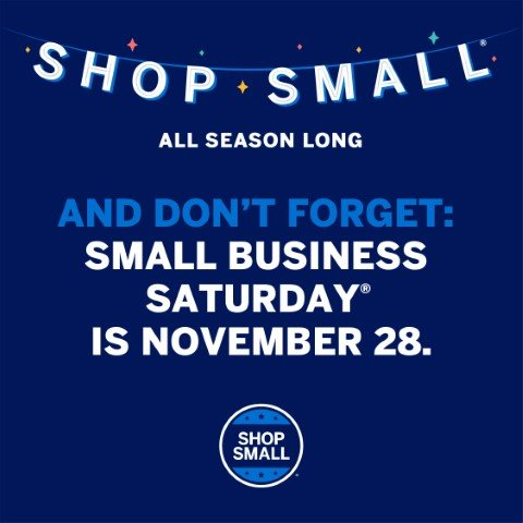 Small Business Saturday is Nov. 28
