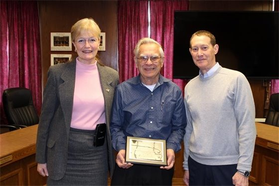 'Community Service Award'