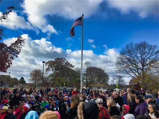 Veterans Day observed at Pagels Elementary School