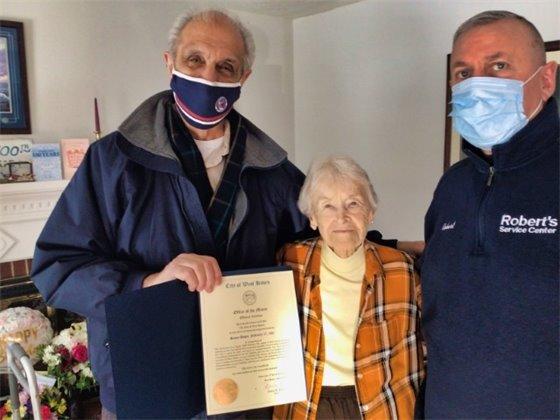 West Haven centenarian celebrates birthday