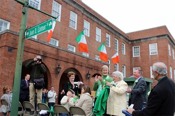 West Haven toasts Joan D. Connor as Irishwoman of the Year