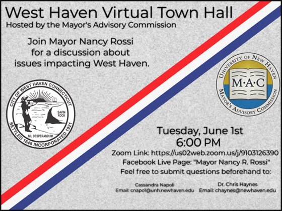Rossi virtual town hall meeting on Zoom set for 6 p.m. June 1