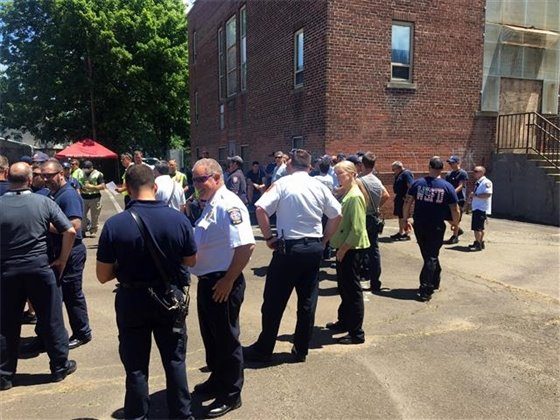 First responders conduct armed intruder drill