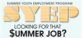Applications available May 3-28 for summer youth jobs