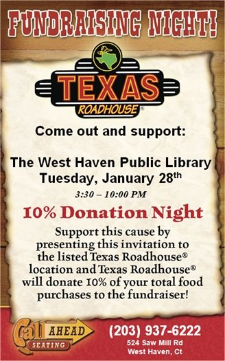 West Haven Public Library Fundraising Night