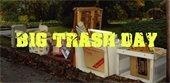 Bulk trash pickup, e-waste drop-off
