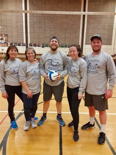 Volleyball tourney raises $975 for Limosani scholarship